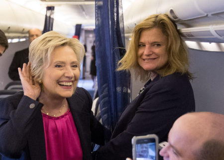 Hillary Clinton, and White House Communications Director, Jennifer Palmieri