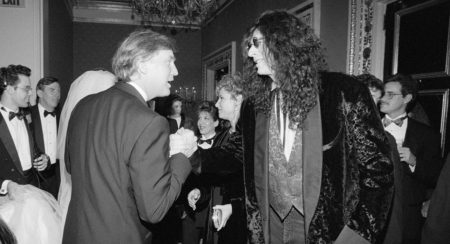 Donald Trump and Howard Stern