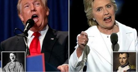2016 Presidential candidates, Donald Trump and Hillary Clinton, are both probably psychopaths, according to scientists