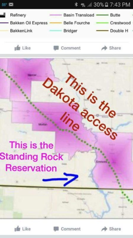 So I still have friends on my page liking and sharing these anti-pipeline articles and memes. If you don't pipeline for a living, and you're not from North Dakota, South Dakota, Iowa, or Illinois then you should really stay out of this conversation, especially if you're just going to keep sharing the same lies over and over. I know everyone is entitled to their opinion, but this is not about opinions, it's about facts, and the facts are; the Dakota access pipeline DOES NOT cross the Standing Rock reservation, it DOES have all the necessary permits and approvals, and it is NOT disturbing any burial grounds This information is easily accessible online with a quick Google search, but I'll include a map anyway, in case you don't have time to research the lies you're sharing. And here are the links showing they have the permits, and that North Dakota's top archeologists surveyed these sites and found nothing. http://m.bismarcktribune.com/news/opinion/guest/all-eyes-on-north-dakota-full-story-isn-t-being/article_5dc1e955-fd71-5003-86be-0fa0f29d7fbc.htmlhttp://www.kcci.com/article/archaeologist-no-human-remains-found-at-pipeline-site/6922493And before you start in about possible water contamination, that's just another scare tactic. The Missouri river will be directionally drilled and the pipeline will have the latest technologies and monitoring systems to help prevent releases and will be constructed 90 feet below the riverbed to ensure nothing may reach the river — far above and beyond what's required by federal regulations. Don't be fooled, the battle right now may be against this pipeline, but the war is on oil. I know some of you hate oil (even though you consume as much as the rest of us on a daily basis) but there simply is not enough renewable energy to meet the current demand, so this oil WILL be brought to market one way or another, and the safest way is via pipeline. They have a smaller carbon footprint and are 4.5 times less likely to cause a spill than trains.