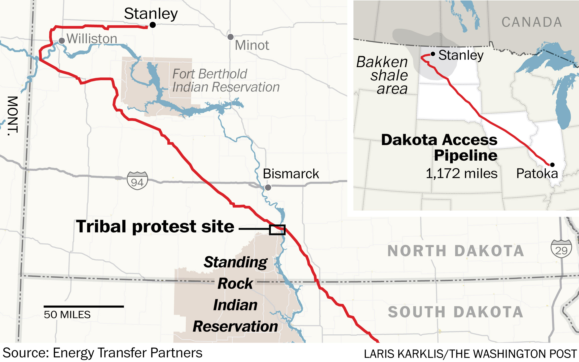 Dakota Access Pipeline Is On Private Property