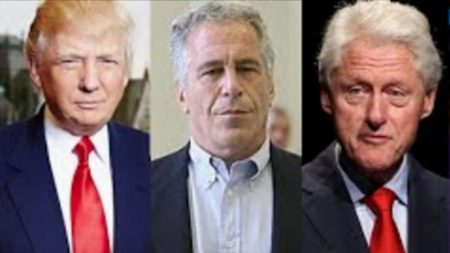 Donald Trump, Jeffrey Epstein, and Bill Clinton