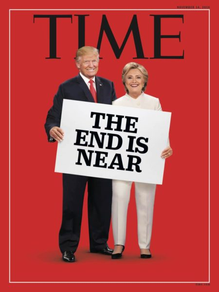 """The end is near"""