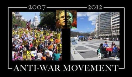 """2007-2012: Anti-War Movement"""