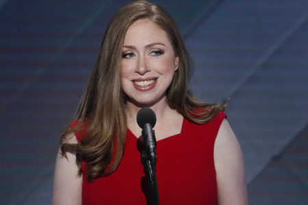 Chelsea Clinton, daughter of Bill and Hillary