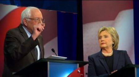 2016 Democratic Presidential candidates, Bernie Sanders and Hillary Clinton
