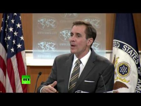 State Department spokesman, John Kirby