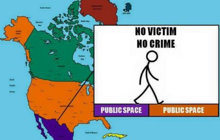 """No victim. No crime. Public space → public space"""