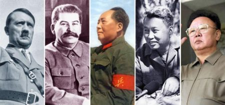 Mass-Murdering Statists, Adolph Hilter, Josef Stalin, Pot Pol, and Kim Jong-un